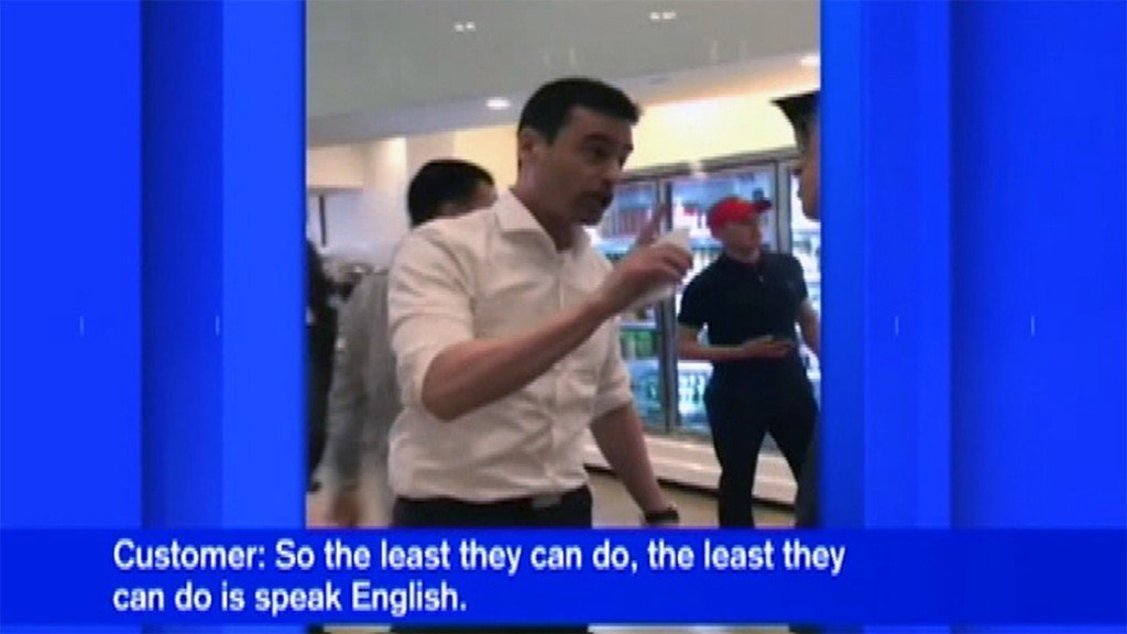 Man to Spanish speakers at New York restaurant: 'My next call is to ICE'