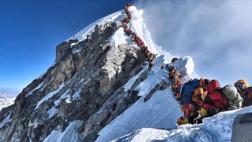 Mount Everest death toll rises amid overcrowding concerns