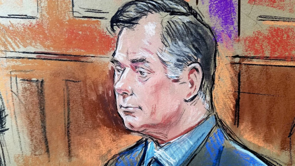 Paul Manafort found guilty on eight counts