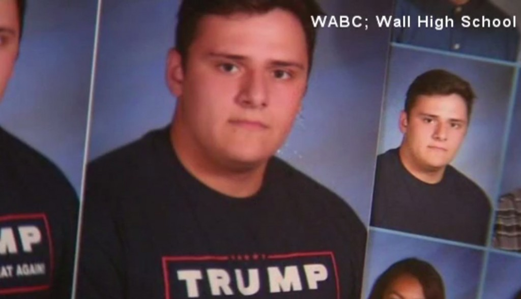 New Jersey high school under fire for erasing Trump slogans from yearbook