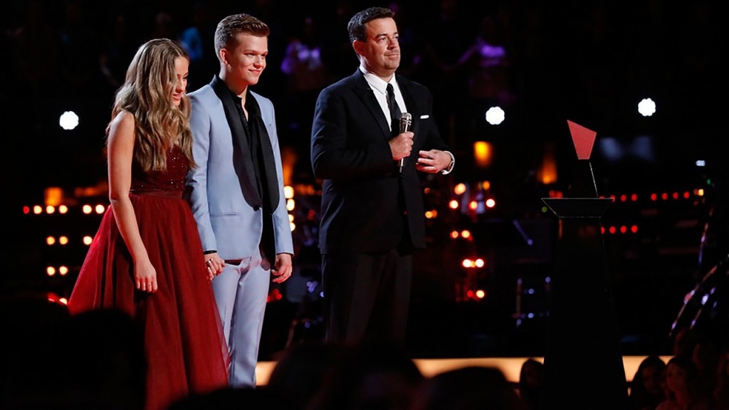 'The Voice' crowns winner