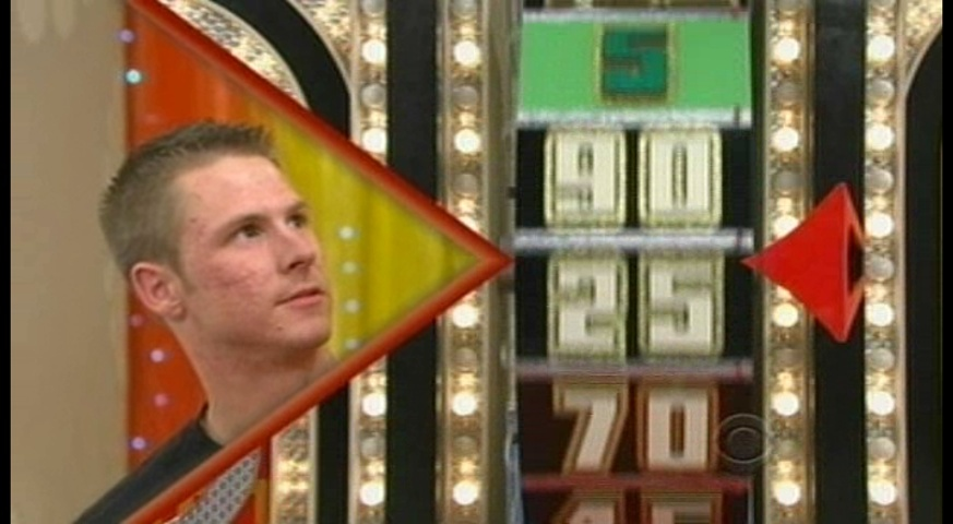 Holmen man on Price Is Right