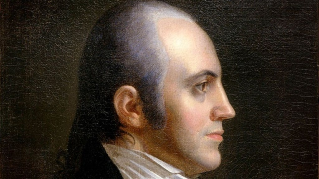 Aaron Burr had a secret biracial family