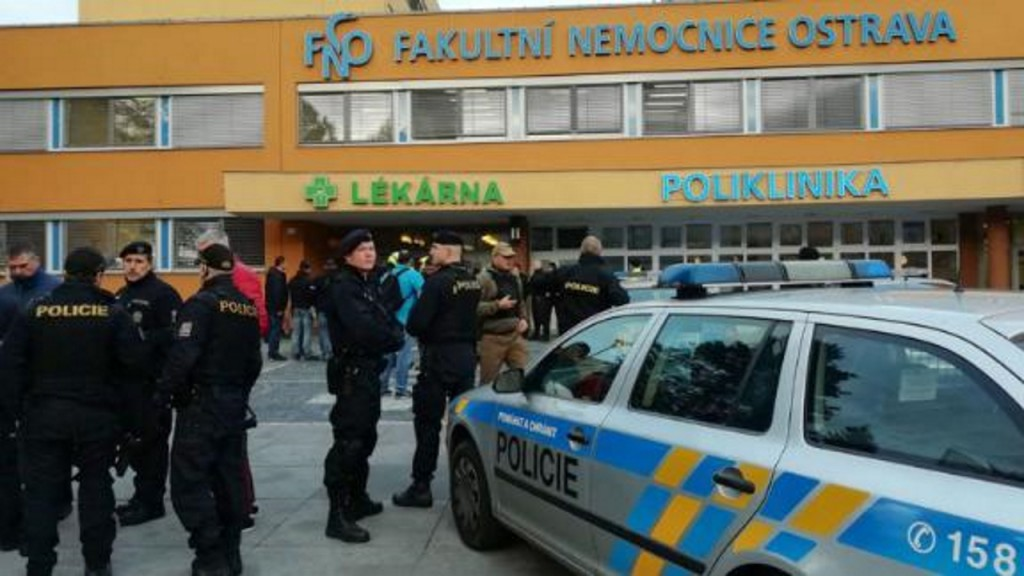 Gunman shoots six dead at Czech hospital before killing himself