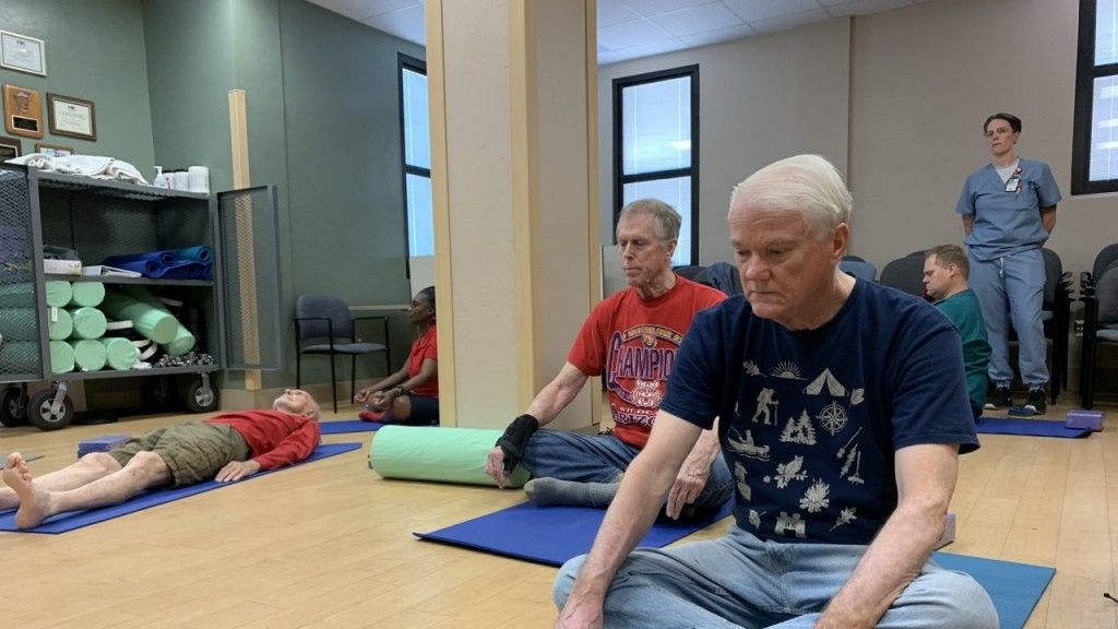 Veterans turn to yoga for treating mental, physical trauma