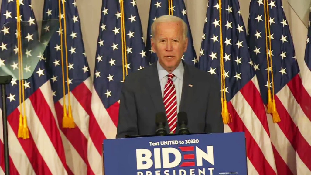 Biden calls Trump 'unhinged' in first ad of $6 million early-state push