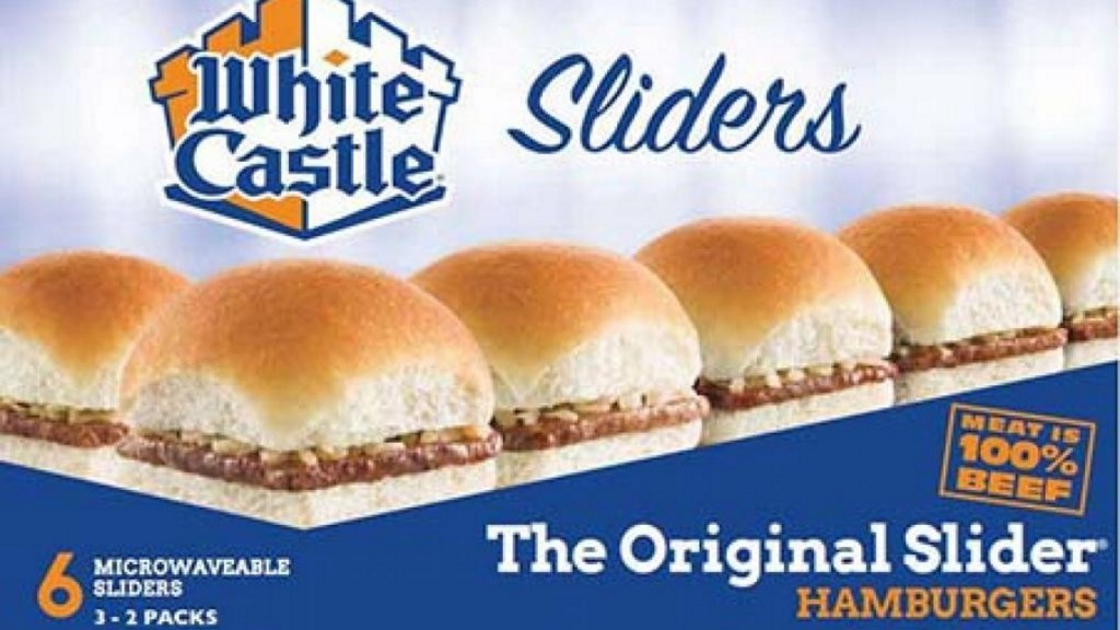 White Castle issues recall of frozen sliders over possible listeria