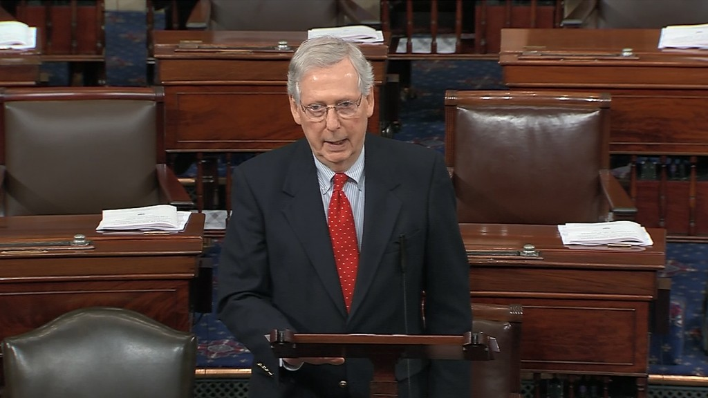 Mitch McConnell argues 'case closed' after Mueller report