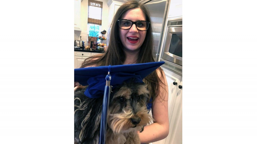 Rare skin condition couldn't keep Riley from graduating outdoors