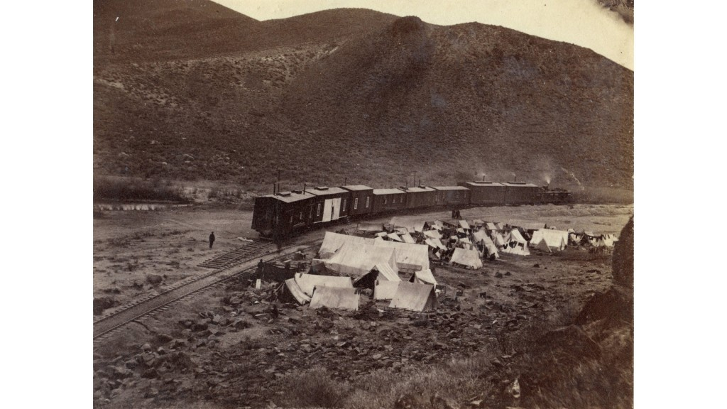 Remembering the migrants who built the transcontinental railroad