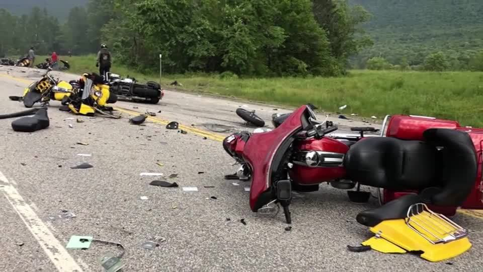 Seven motorcyclists dead after colliding with truck in New Hampshire