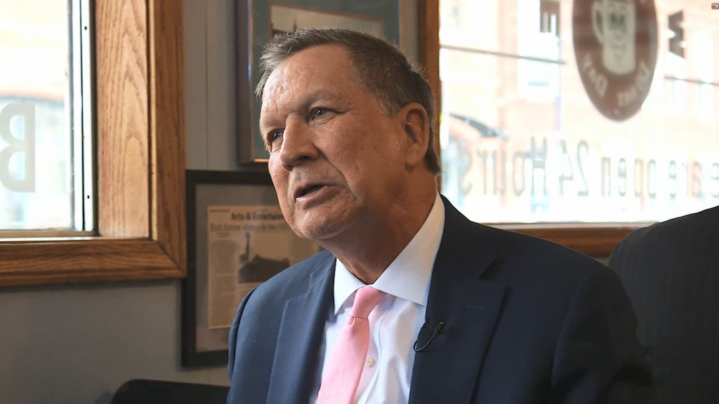 John Kasich: Independent presidential run 'unlikely'