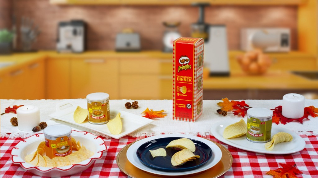Pringles' Thanksgiving chips sell fast