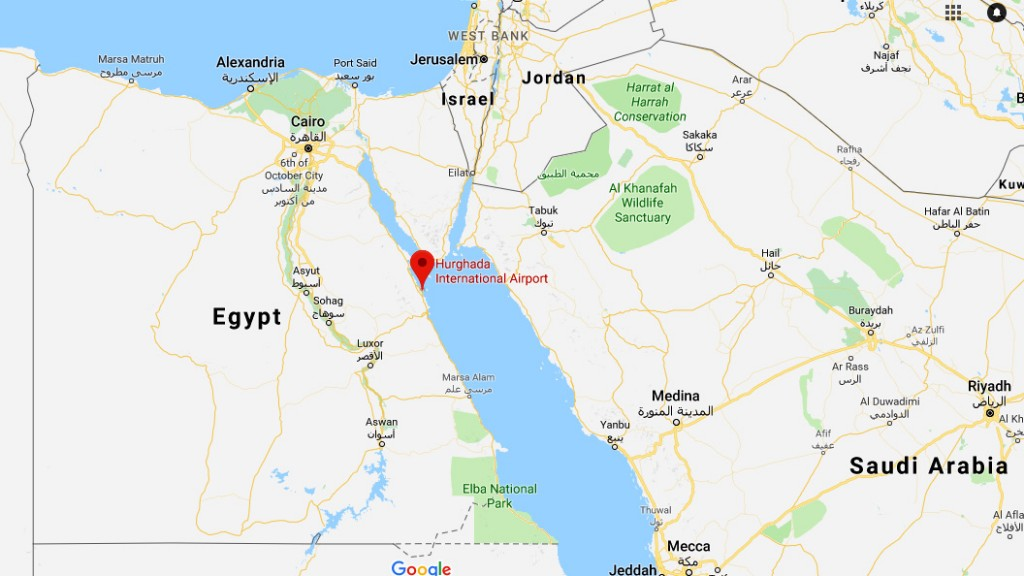 British tourist gets 3-year sentence in Egypt on drug smuggling charge