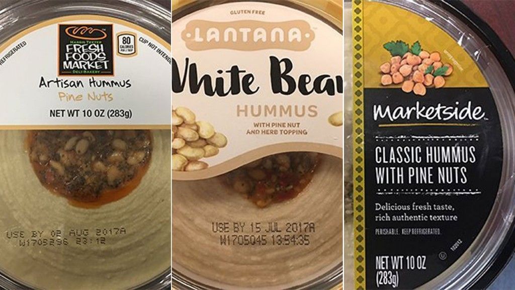 Hummus with pine nuts recalled amid listeria fears