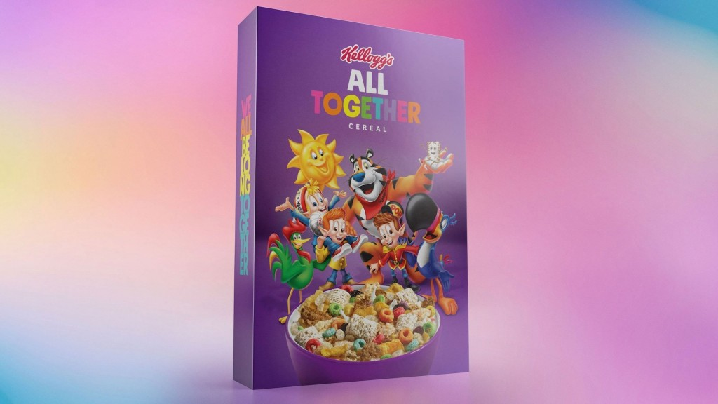 Kellogg joins GLAAD for anti-bullying campaign with All Together cereal