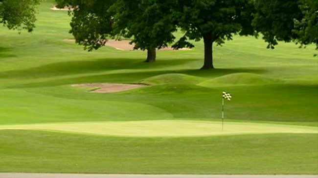 Swastika found carved into greens of Minnesota golf course