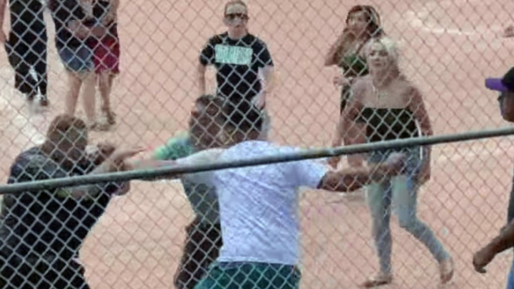 Parents brawl over a 13-year-old umpire's call at Little League game