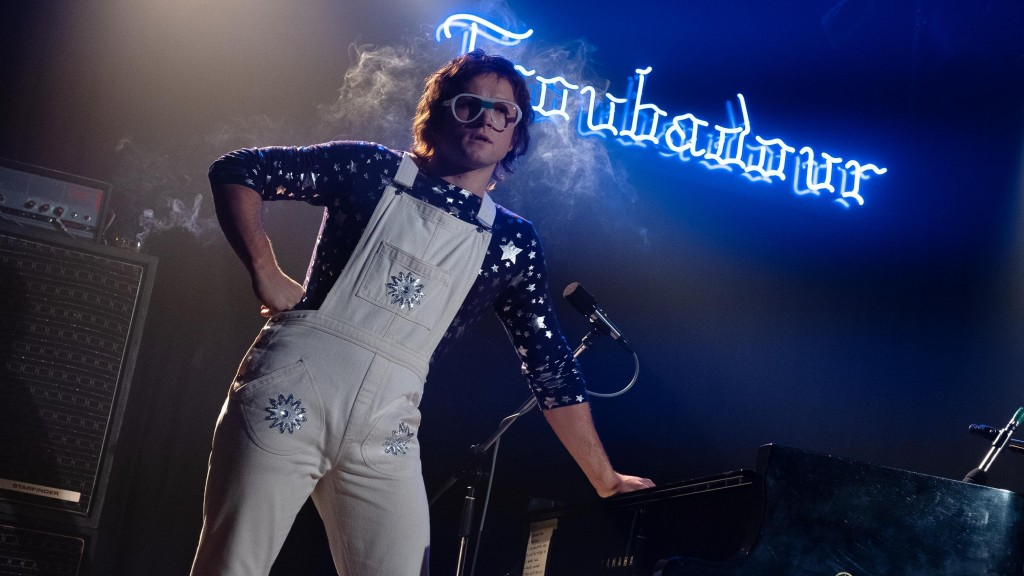 Taron Egerton says there was no roadmap for his work in 'Rocketman'