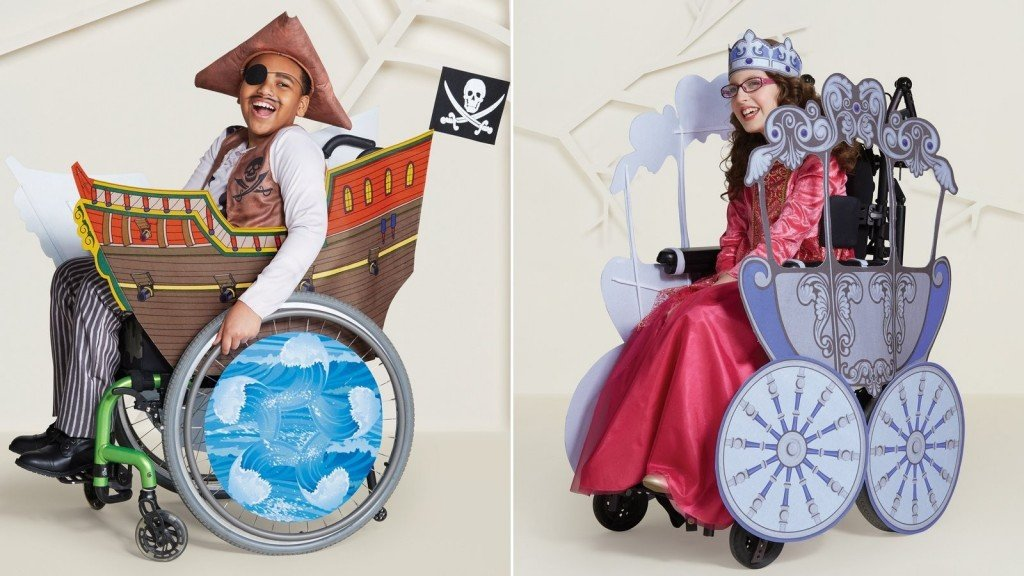 Target adds special Halloween costumes for kids with disabilities