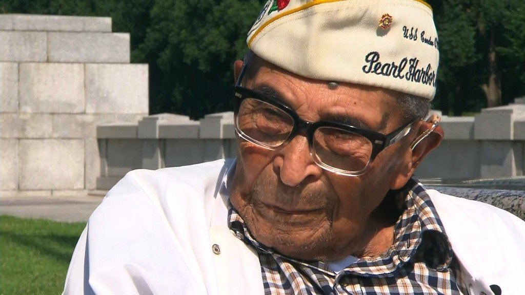 Oldest Pearl Harbor survivor reflects ahead of Memorial Day