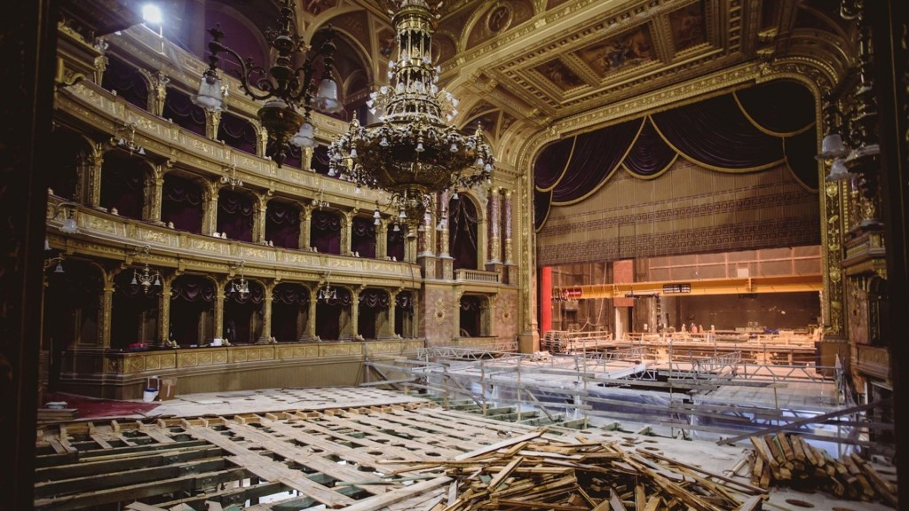 Inside Hungarian State Opera House's multi-million dollar renovation project