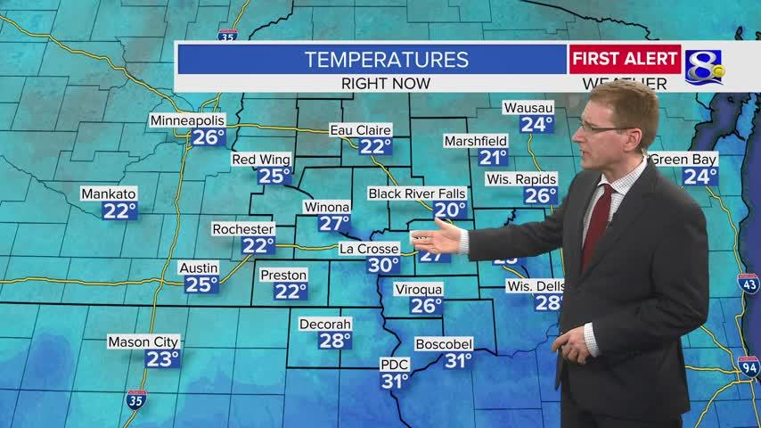 Your Monday Evening Weather Forecast