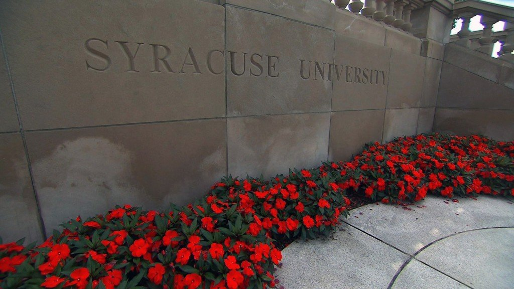 Syracuse students camp out on campus to protest racist incidents