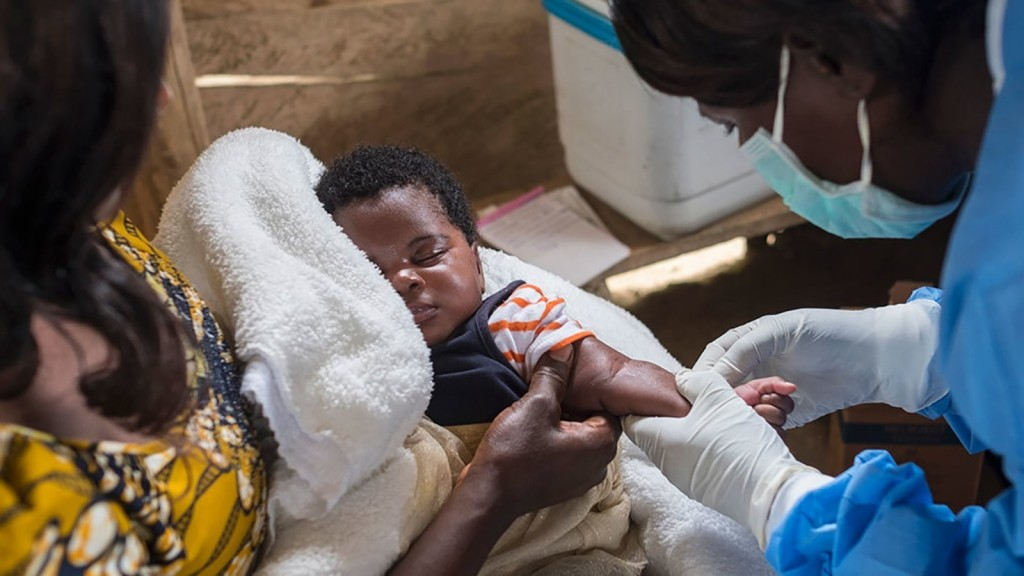 Measles has claimed more than twice as many lives as Ebola in DRC