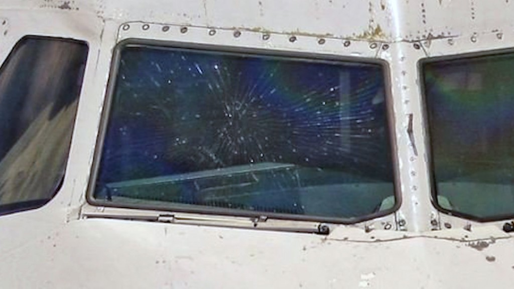 Third flight in three weeks diverted because of damaged window