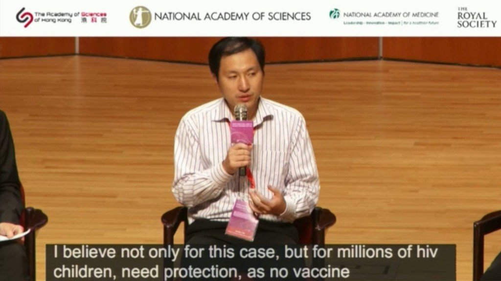 Chinese gene-editing scientist defends his research