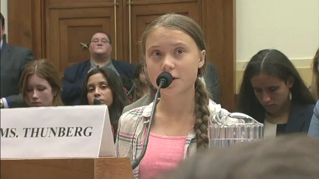 Greta Thunberg urges Congress to 'listen to the scientists' on climate