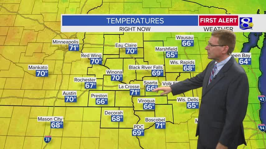 Your Tuesday Evening Weather Forecast