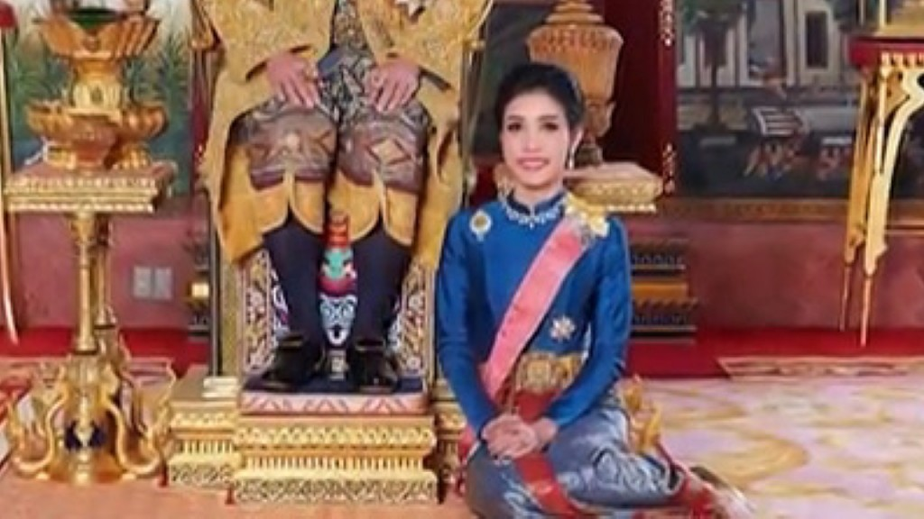 Thai King strips 'disloyal' royal consort of titles, military ranks