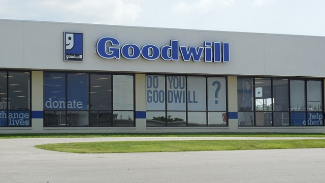 Cremated remains donated to Washington Goodwill