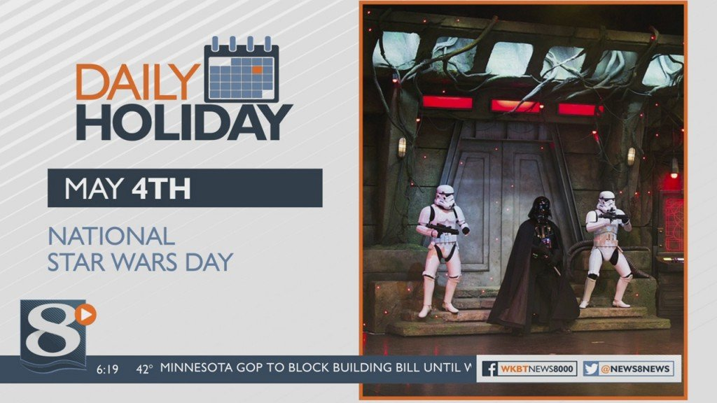 Daily Holiday National Star Wars Day