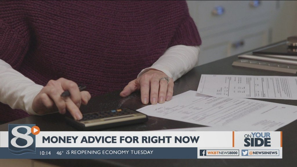 On Your Side Money Advice For Right Now