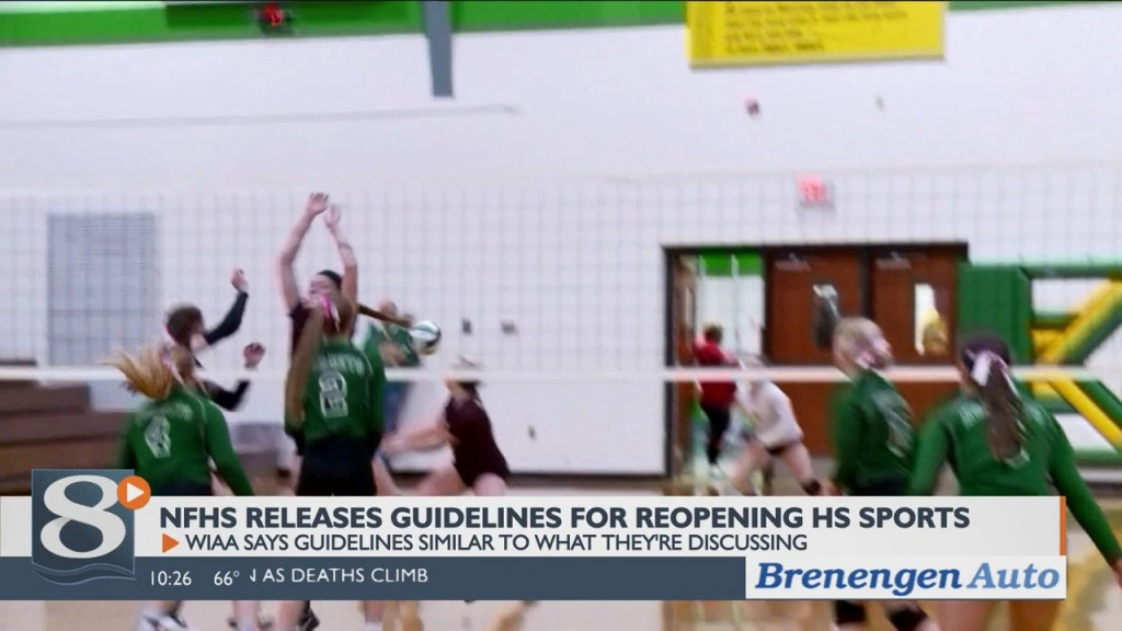 Nfhs Releases Recommendations For Reopening High School Sports