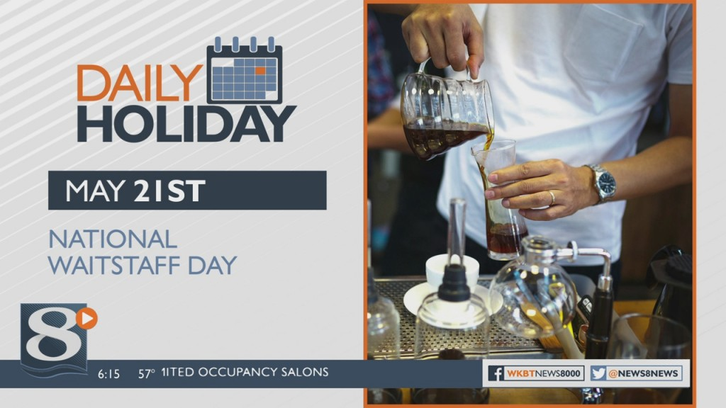 Daily Holiday National Waitstaff Day