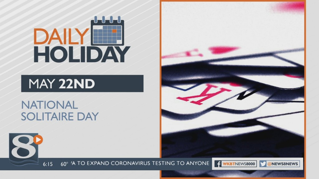 Daily Holiday National Solitaire Day