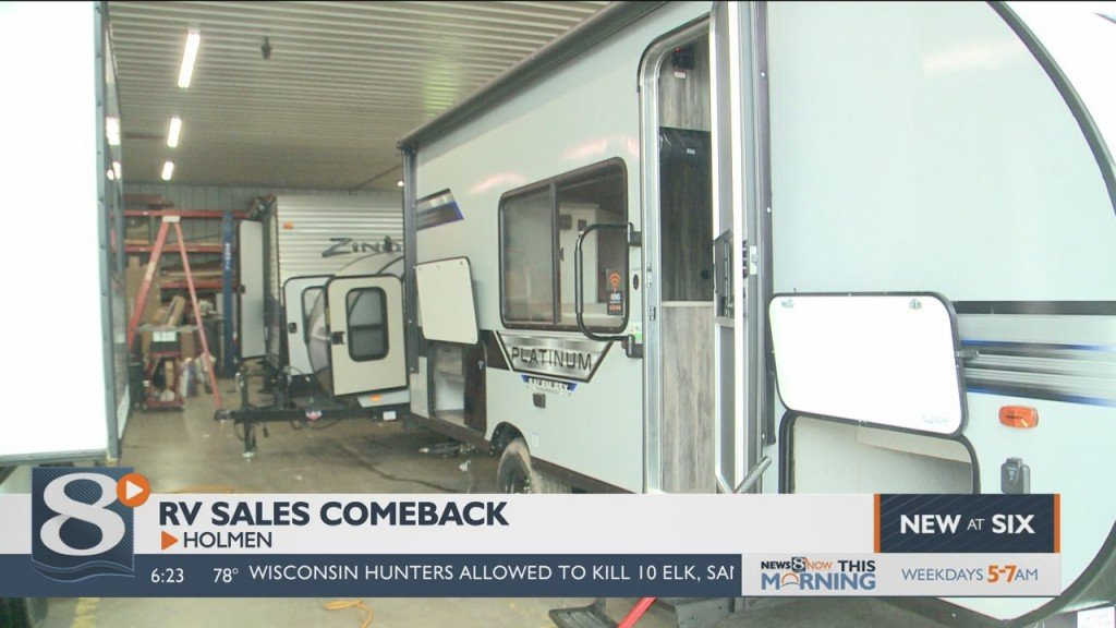 Local Rv Dealer Experiencing Big Bump In Sales