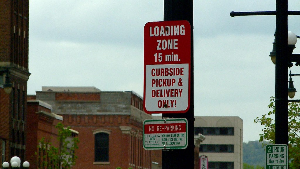 Curbside Pick Up Signs