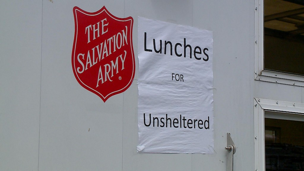 Salvation Army Shelter Efforts