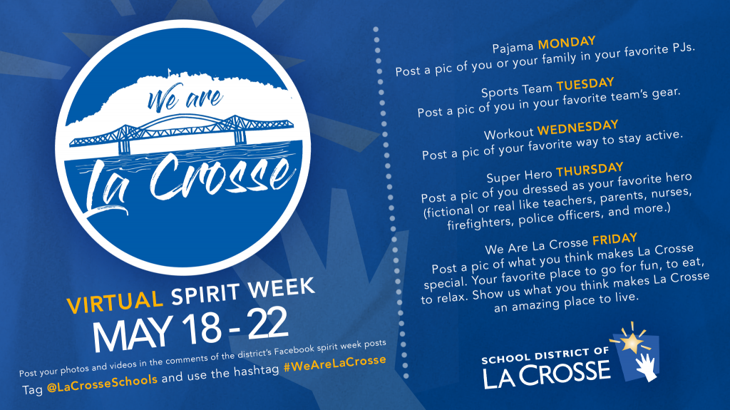 We Are La Crosse Social Calendar