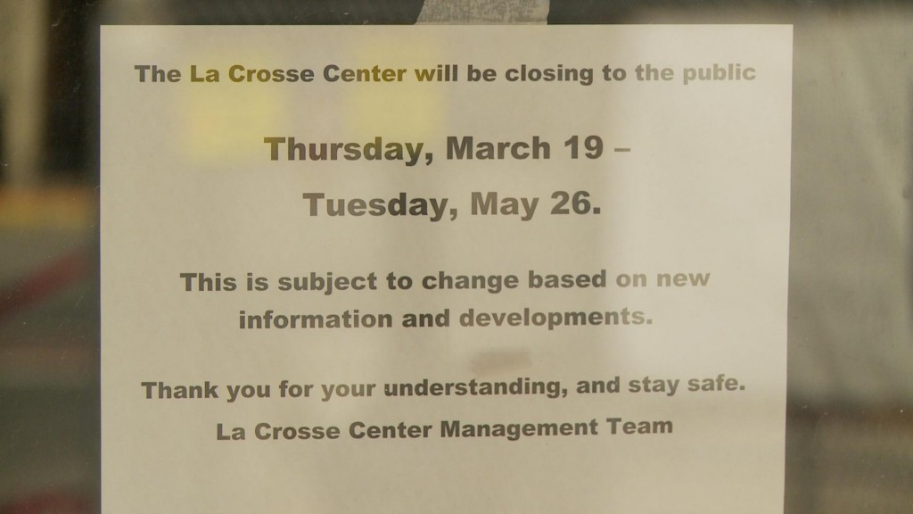 La Crosse Center Sign