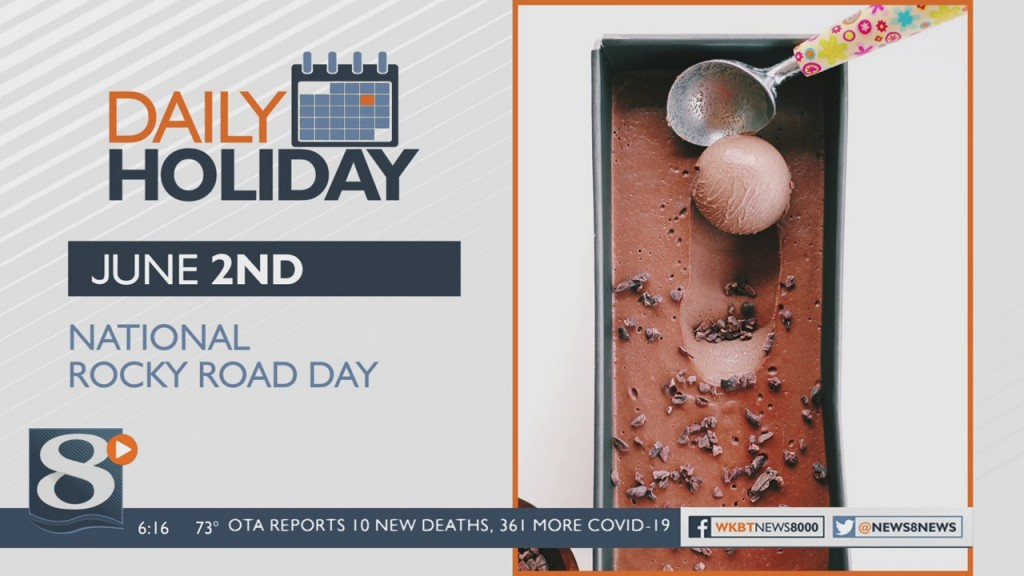 Daily Holiday National Rocky Road Day
