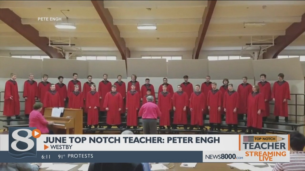 June 2020 Top Notch Teacher: Peter Engh