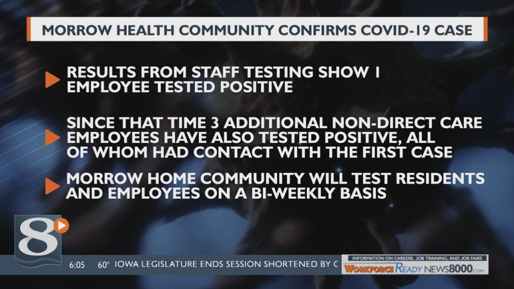 Employee At Senior Living Community In Sparta Tests Positive For Covid 19