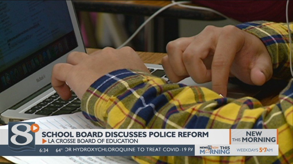La Crosse Board Of Education Discusses School Resource Officer Reform