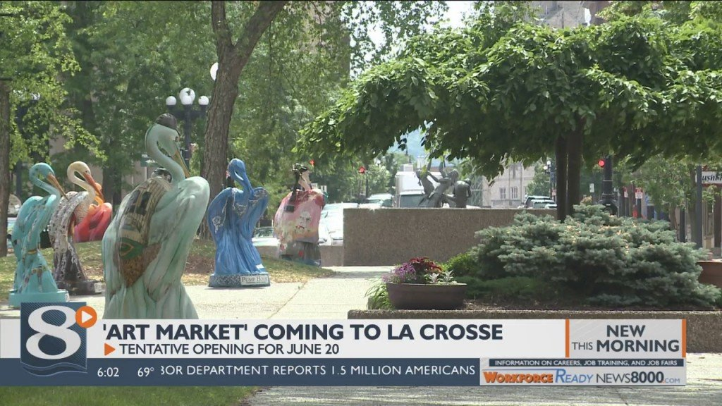 Between The Herons: 'art Market' Coming To Main Street Plaza
